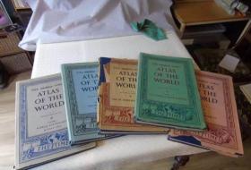 泰晤士世界地图集 世纪中叶版