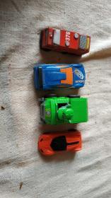 四个小汽车能玩