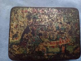 (箱10)民国 上海华丰厂  八仙人物 肥皂盒,尺寸10.5*8cm
