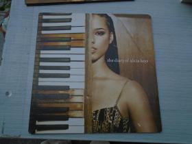 the diary of alicia keys(大黑胶唱片,原版外文唱片,2盘,品好,无划痕。只发快递。详见书影)
