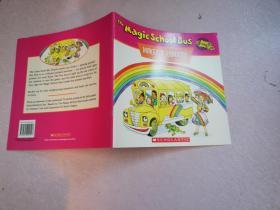 The Magic School Bus Makes a Rainbow: A Book about Color  神奇校车系列: 彩虹工厂【实物拍图】英文版