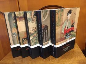 The story of the stone 5 volumes set - translated by David Hawkes and John Minford -- 全套5卷 《红楼梦》 企鹅出版平装本  霍克斯与闵福德英译本