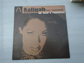 Aaliyah feat timbaland(大黑胶唱片,原版外文唱片,1盘,品好,无划痕。只发快递。详见书影)