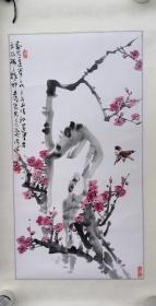 梅花2009年(画家本人提供)