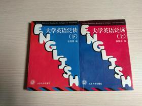 大学英语泛读 上下
