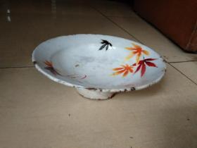 1966年镇江搪瓷厂搪瓷盘