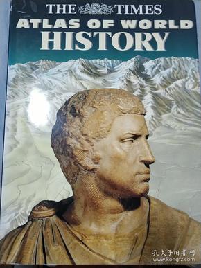 泰晤士历史地图集崭新英文原版