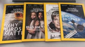 NATIONAL GEOGRAPHIC; JANUARY2018 四册