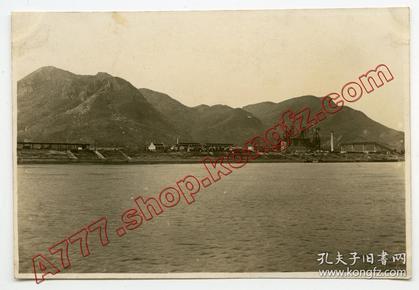超高清晰 民国1920年代 湖北大冶铁厂,湖广总督张之洞创办的中国最早最大的钢铁企业汉冶萍煤铁厂矿有限公司的重要组成部分,今湖北新冶钢有限公司前身,湖北黄石大冶
