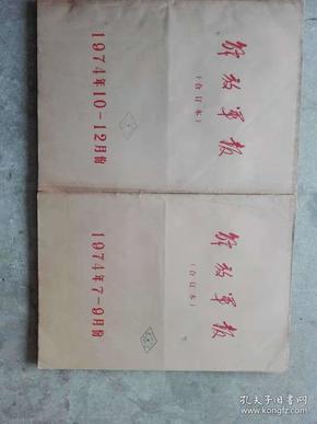 解放军报合订本1974年1-12月,全,报社原装合订本,品相如图,看好再拍。