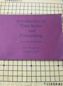 Introduction to Time Series and Forecasting(英文原版复印本,时间序列和预测简介)
