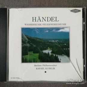 George Frideric Handel-乔治·弗里德里�!ず嗟露�-水上音乐作品/库贝利克指挥-欧美正版CD