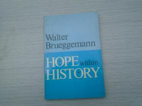 HOPE WITHIN HISTORY (外文原版正版老书。32开平装一本,详见书影。)