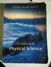 an introduction to physical science ,thirteenth edition