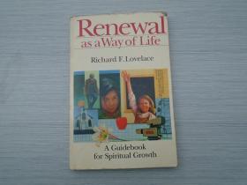 Renewal lovelace (外文原版正版老书。32开平装一本,详见书影。)