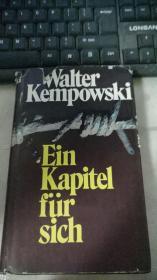 Walter Kempowski Ein Kapitel für sich