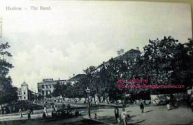 清代民国老明信片-湖北 武汉 汉口 码头 外滩 建筑
