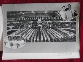 老照片女子体育资料文献单打网球优胜者第一名上海的朱芝英第二名清原小漂流图片