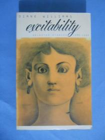 Excitability: Selected Stories 1986-1996(英文原版)【個人藏書】無涂劃,里頁新。問題看圖。