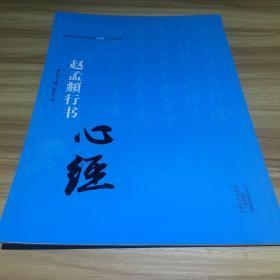 中国历代书法名家写心经放大本系列 赵孟頫行书《心经》