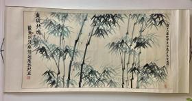 蘇東坡第三十二代傳世孫-蘇德忠-巨幅《綠竹》