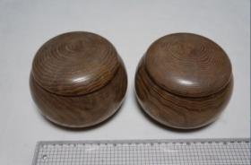 围棋一套   教学用  木罐