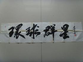 安青怀(安子):书法:寰球群星《安青怀书法集》
