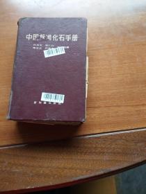 中国标准化石手册 附各时代地层对比表