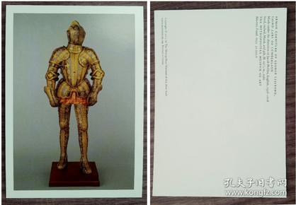外国明信片,乔治克利福德盔甲,大都会博物馆原版,品如图