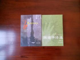 忍冬花诗丛:陈建华诗选。乱世萨克斯风(2册均有陈建华签名)