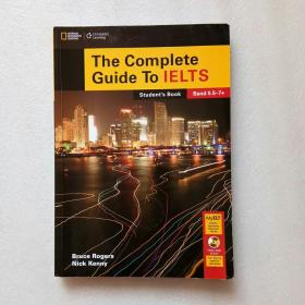 The Complete Guide To IELTS Students Book(带光盘)书内有写字、大16开