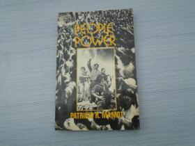 PEIPLE POWER/ PATRICIO R MAMOT(外文原版正版老书。32开平装一本,扉页有签赠笔记。详见书影。)