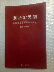 刑法新思潮:张明楷教授学术观点探究