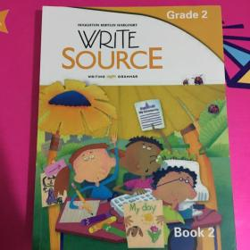 G2 Write Source Student Edition Book【2-3】+Write Source Skills Book【3本合售】