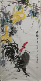 孙文启,又名悦奇,号四友堂主人。1949年2月生于北京通州区,大专学历,中国美术家协会会员,北京市书法家协会会员,中国书画艺术研究会理事,中国硬笔书法家协会会员,中国三峡画院,华夏东方杰书画院,东方白马画院一级画师。书法师承王遐举、许行,擅隶书、帛书。国画专攻花鸟,擅画牡丹、荷花、梅竹、紫藤等。