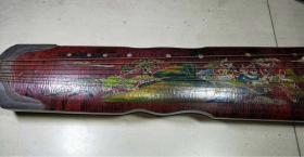 早年漆器古琴一把,可正常使用,长一米。。