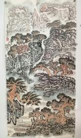 宋玉麐老师的山水作品