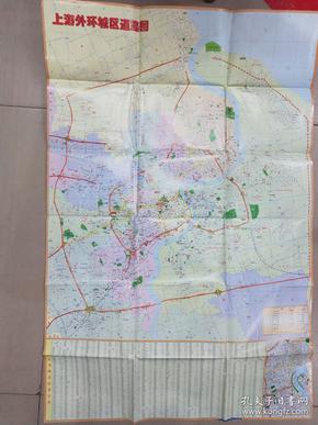 上海市道路图   2002年