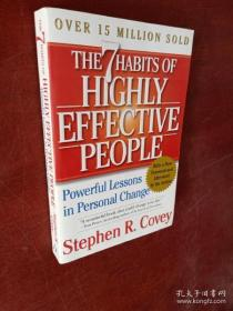The 7 Habits of Highly Effective People:Powerful Lessons in Personal Change(货号:A699)