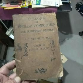 Elementary Lessons in English Composition : Oral and Written(BOOK II)