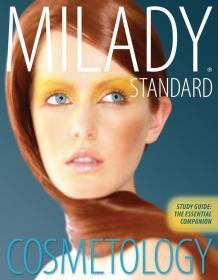 英文原版书 Study Guide: The Essential Companion for Milady Standard Cosmetology 2012 Paperback by Milady (Author)