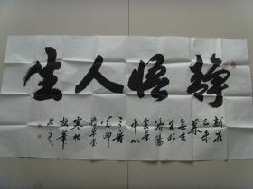 王家骏(寒松):书法:静悟人生