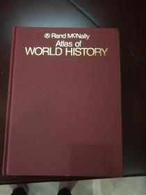 Rand Mc.Nally Atlas of WORLD HISTORY