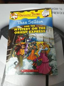 Thea Stilton #13: Thea Stilton And The Mystery On The Orient Express 老鼠记者之西娅 13:西娅与东方快车之谜
