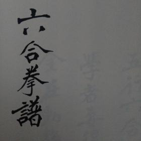 六合拳谱(打印件)
