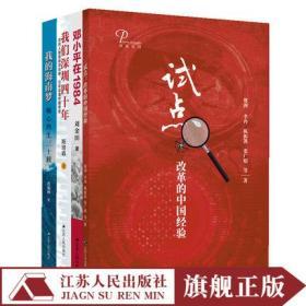正版 (全四册)试点+邓小平在1984+我们深圳四十年+我的海南梦改革开放四十周年中国经济研究改革开放
