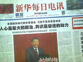 新华每日电讯2018年12月30日