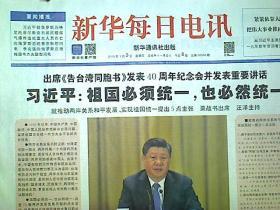 新华每日电讯2019年1月3日8版