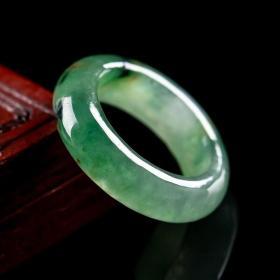 天然翡翠戒指