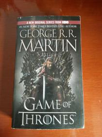 GEORGE R.R.MARTIN  GAME OF THRONES